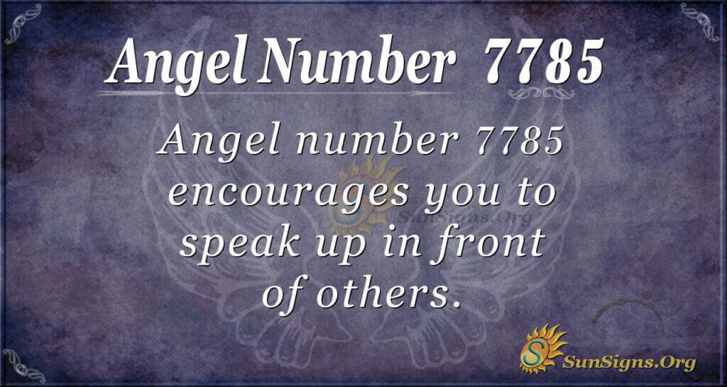 7785 angel number