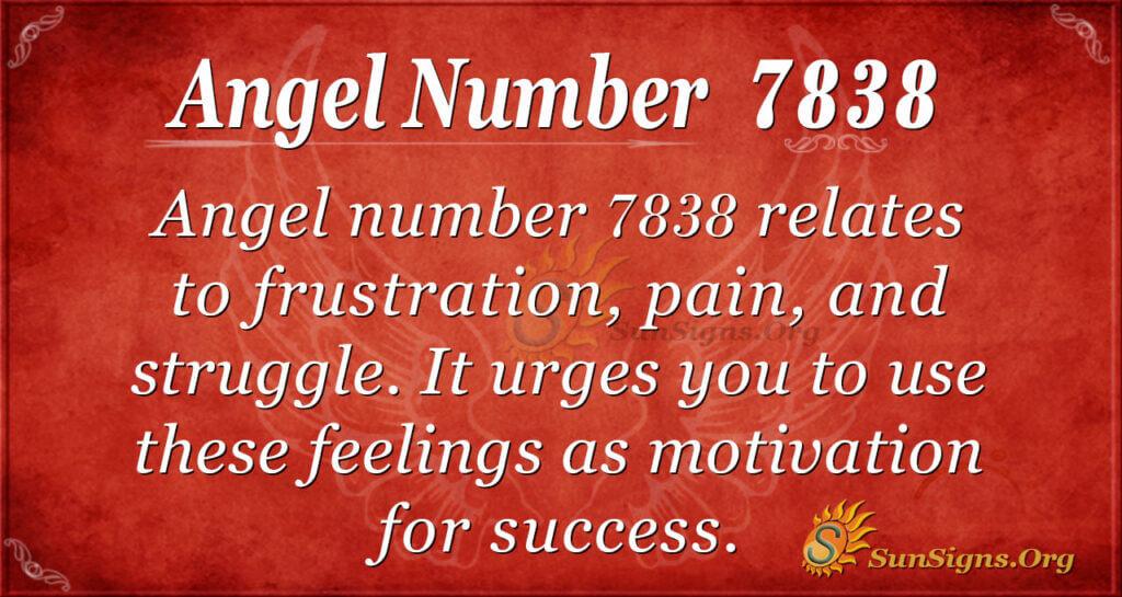 7838 angel number