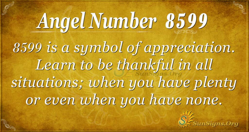 8599 angel number