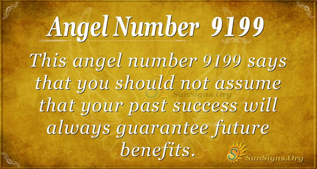 9199 angel number