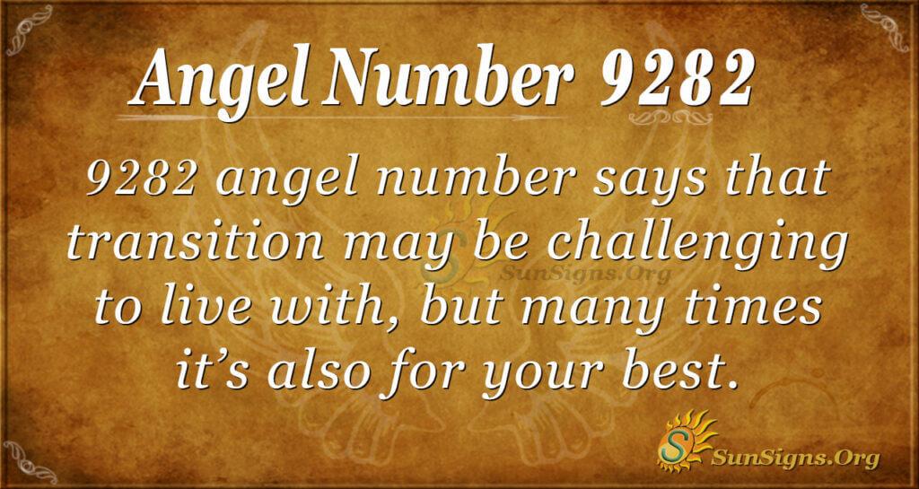 9282 angel number