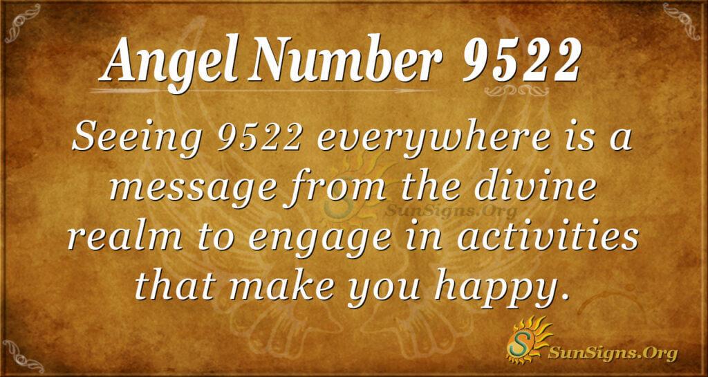 9522 angel number