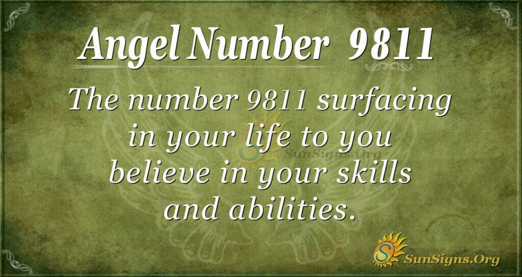 9811 angel number