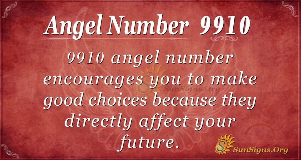 9910 angel number