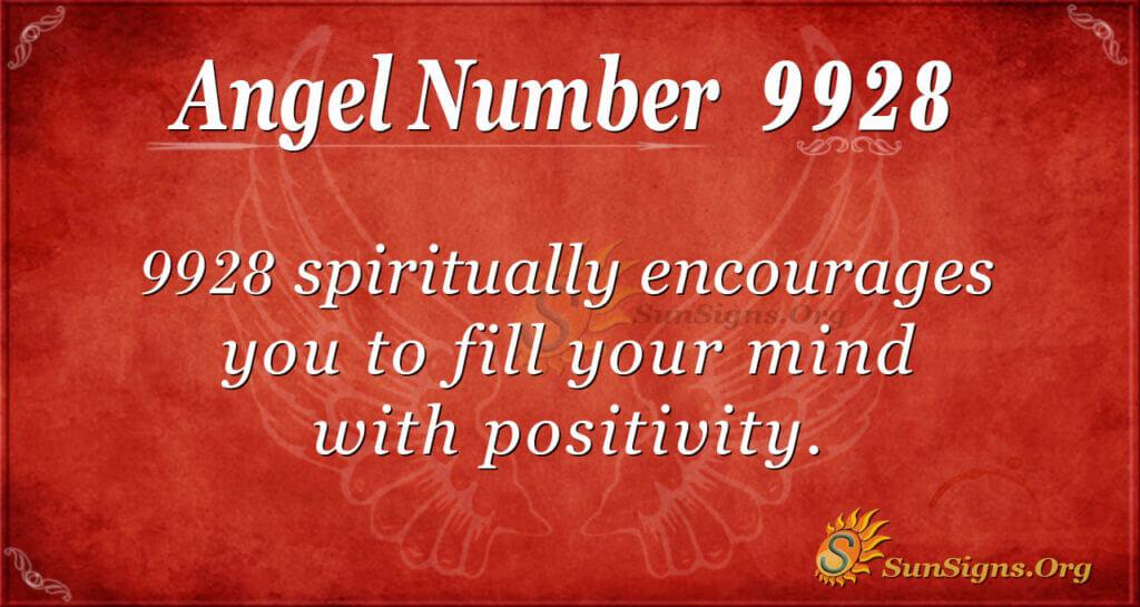 9928 angel number