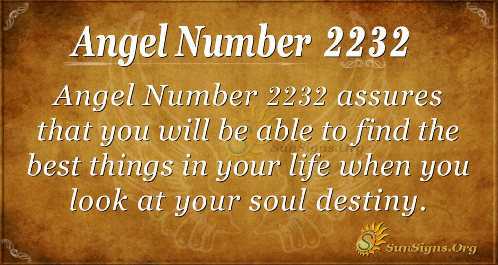 2232 angel number