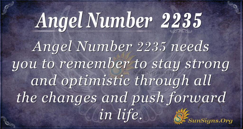 2235 angel number