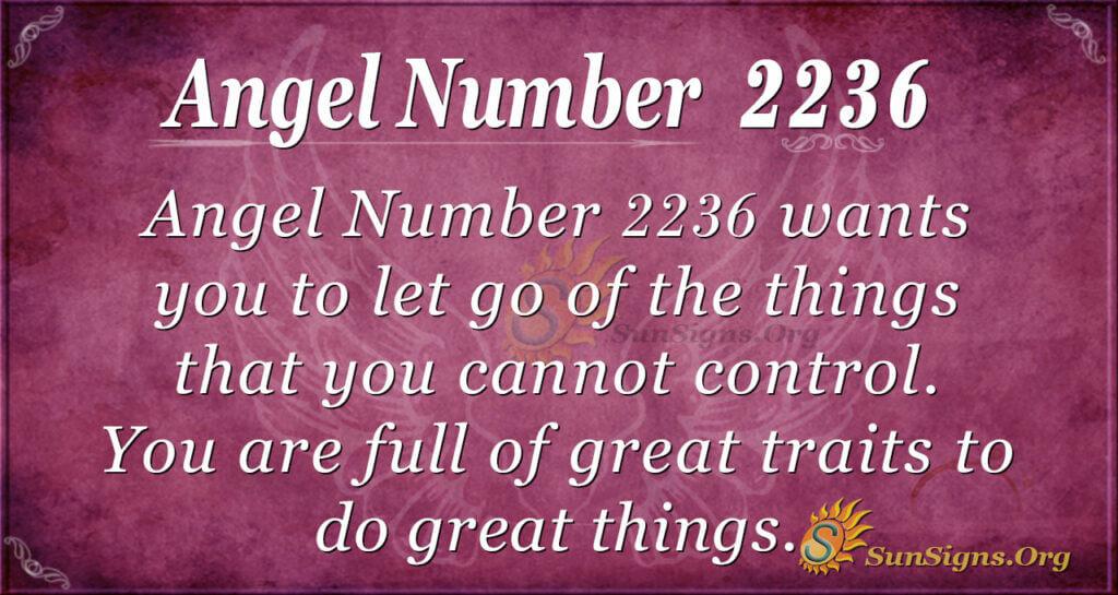 2236 angel number
