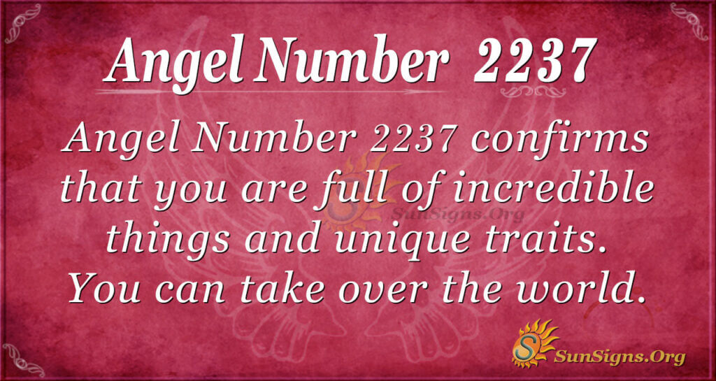 2237 angel number