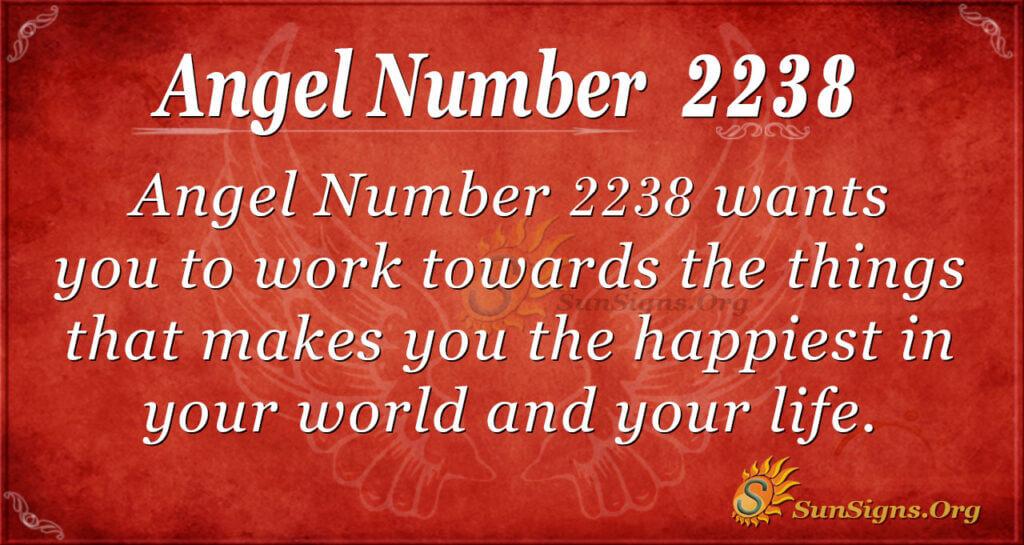 2238 angel number