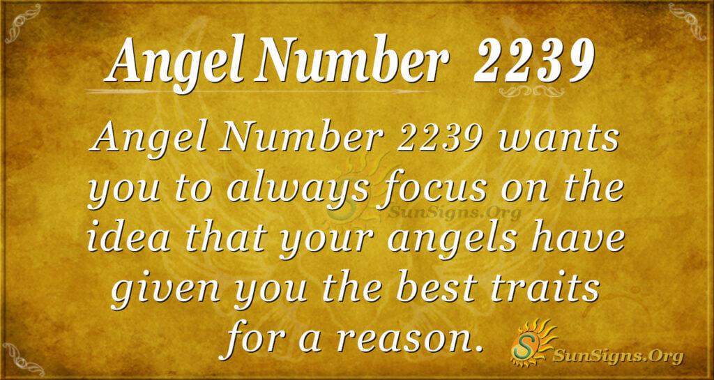 2239 angel number