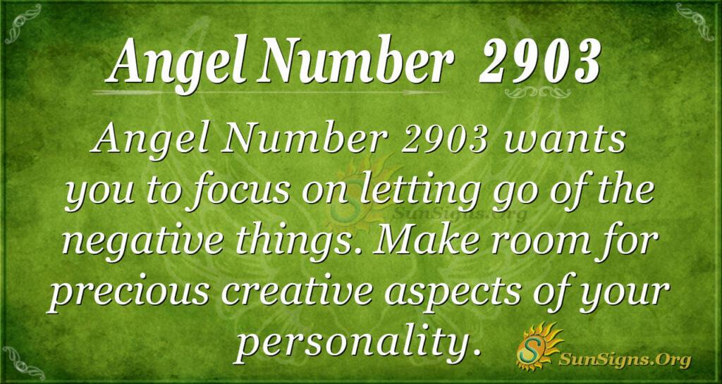 2903 angel number