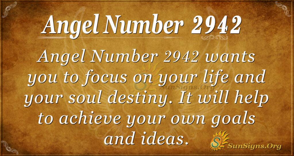 2942 angel number
