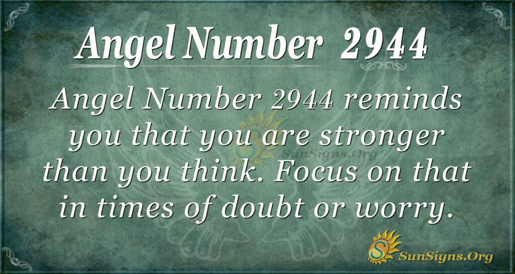 2944 angel number