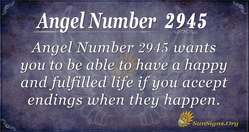 2945 angel number
