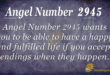 2945 angel number