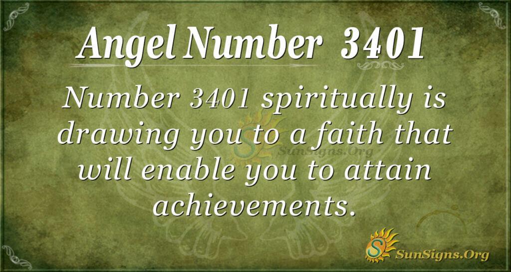 3401 angel number