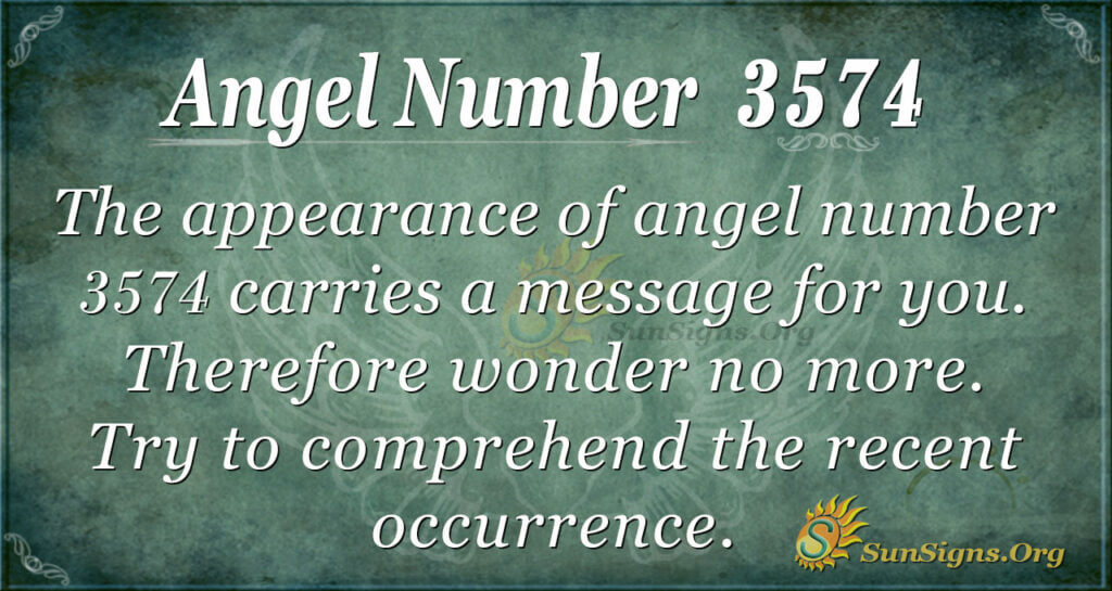 3574 angel number