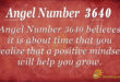 3640 angel number