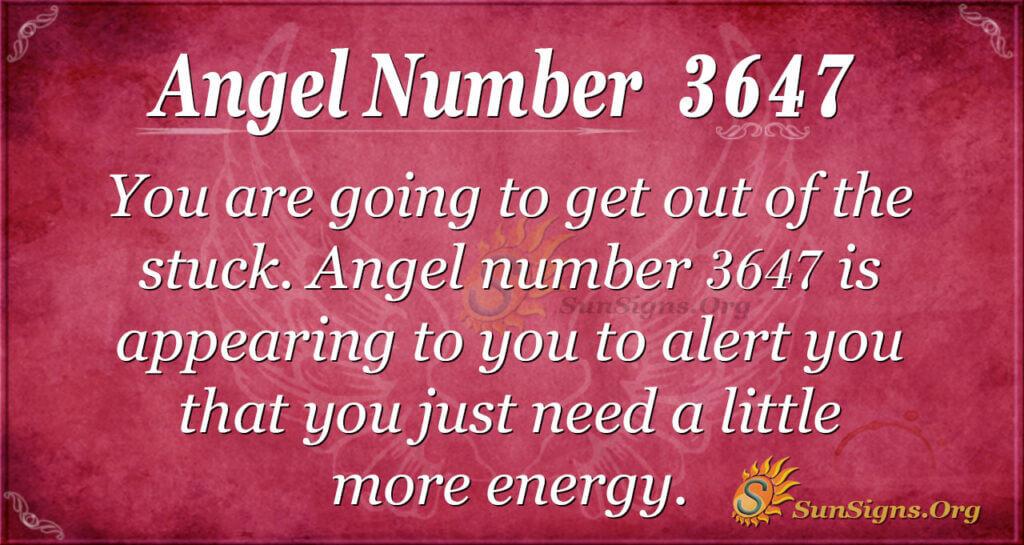 3647 angel number
