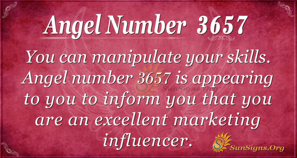 3657 angel number