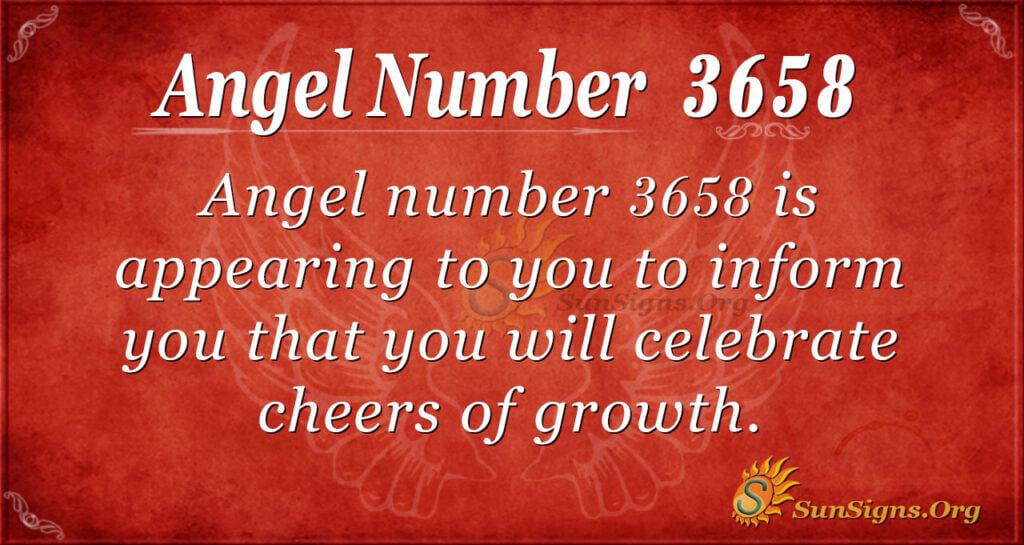 3658 angel number