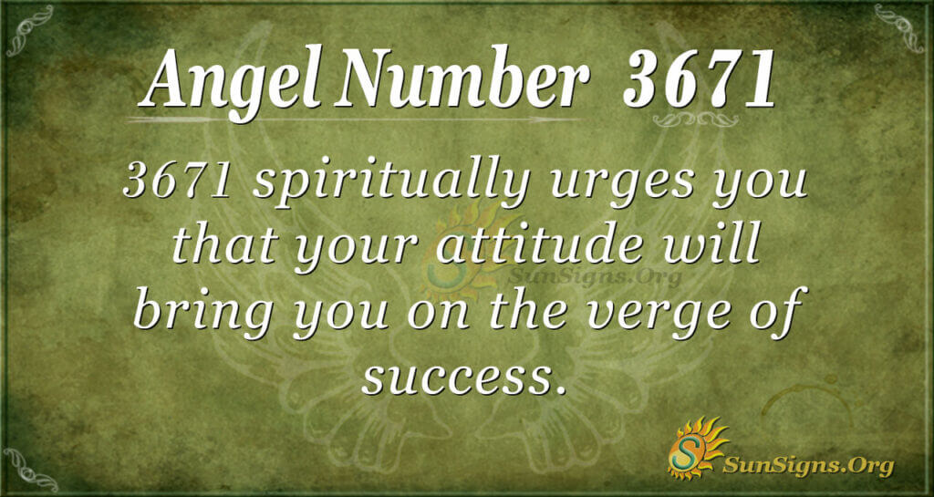 3671 angel number