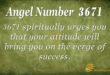 3671 angel number