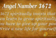 3672 angel number