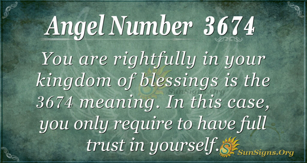 3674 angel number