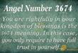 3674 angel number