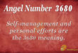 3680 angel number