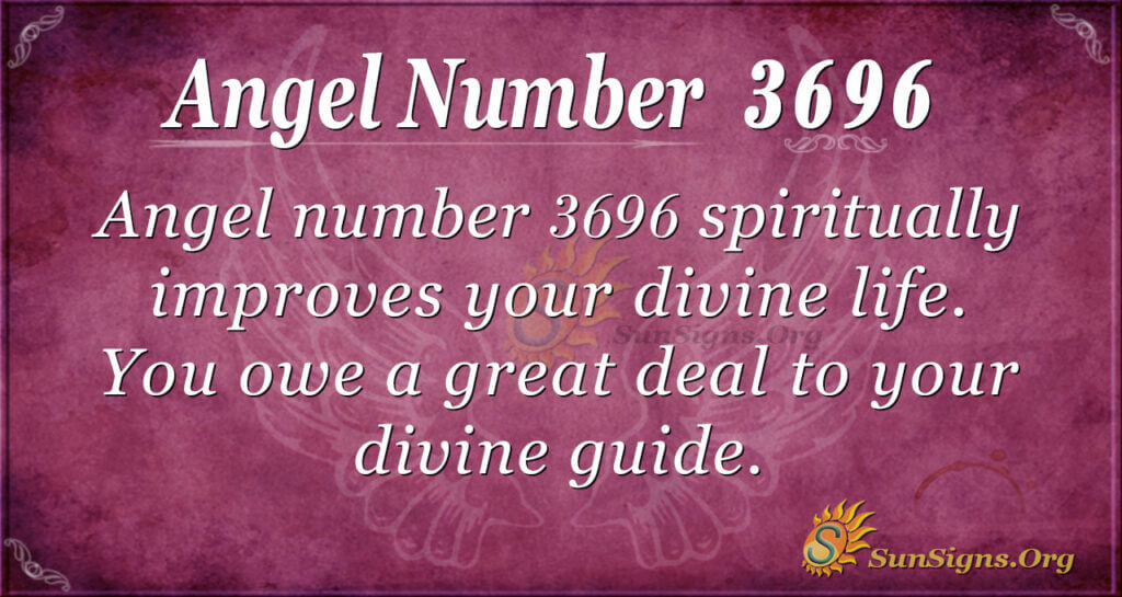 3696 angel number