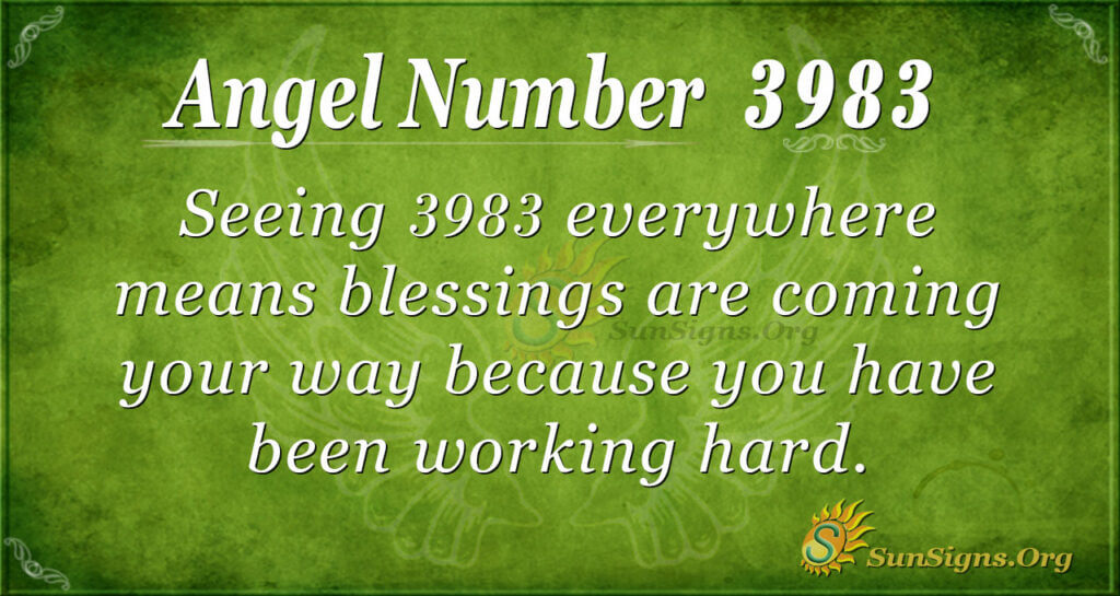3983 angel number