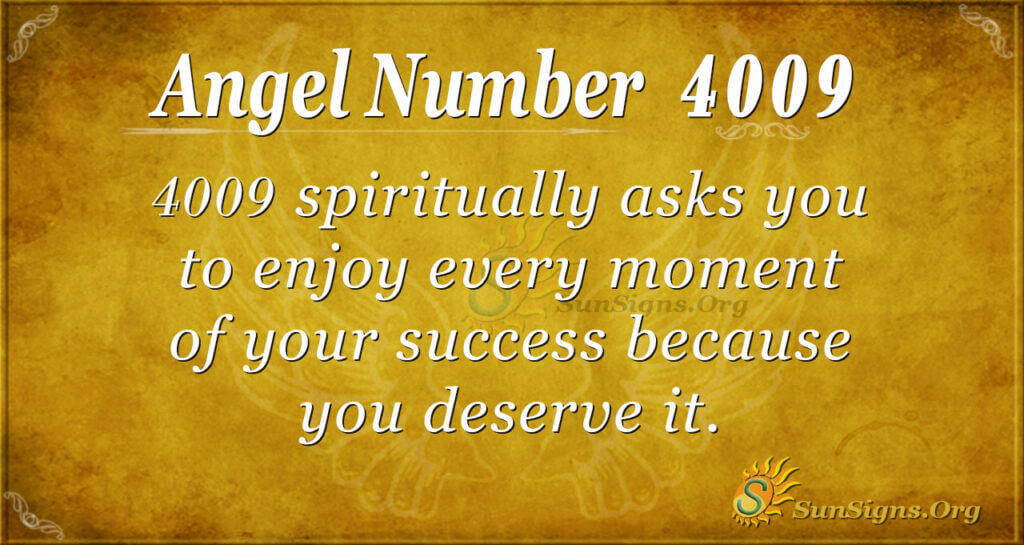 4009 angel number