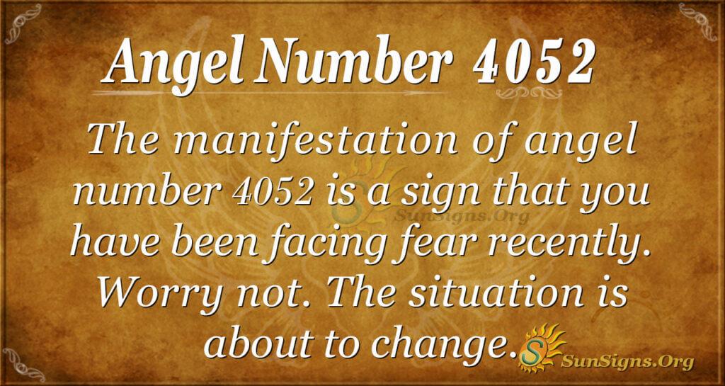 4052 angel number