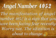 4052 angel number