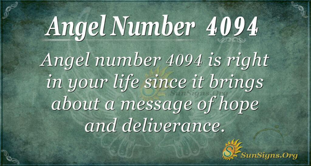 4094 angel number