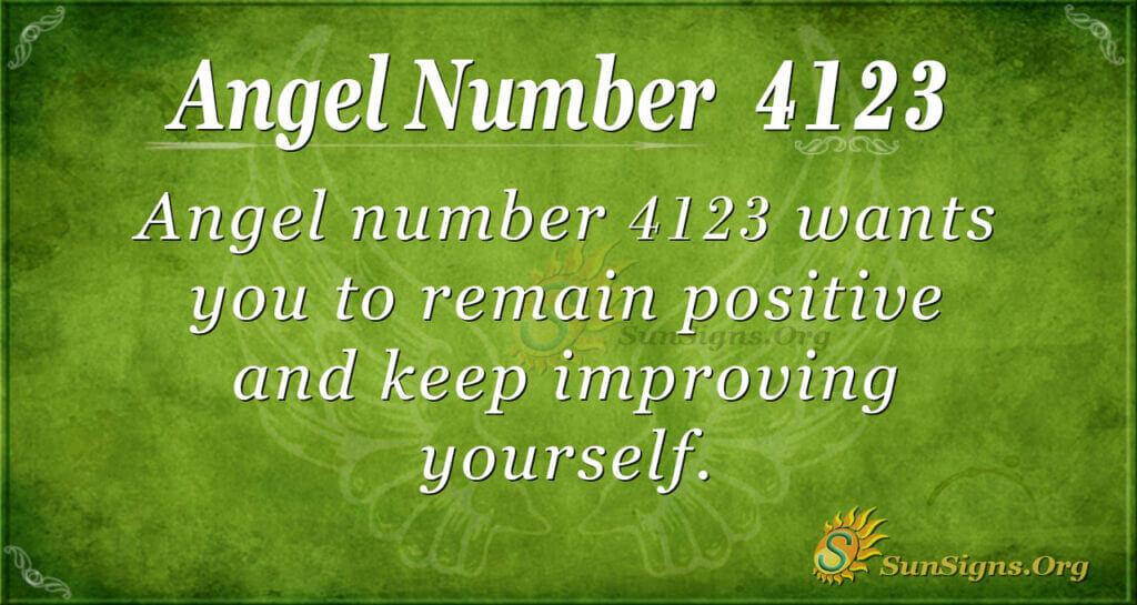 4123 angel number