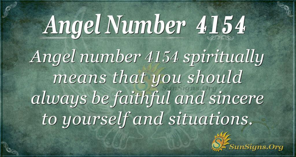 4154 angel number