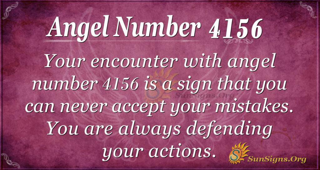 4156 angel number
