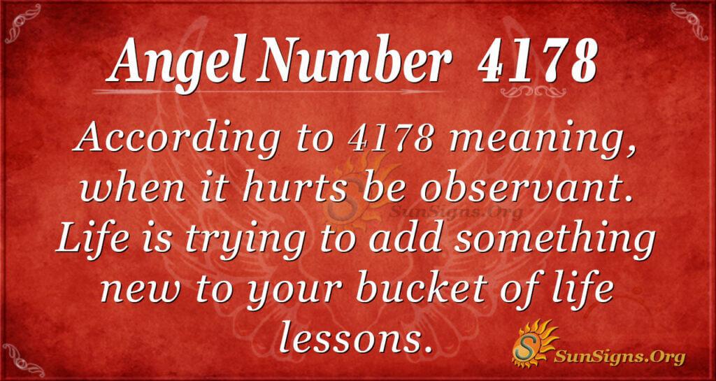 4178 angel number