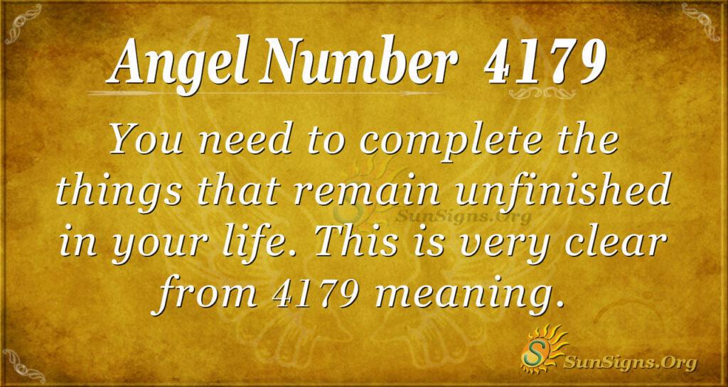 4179 angel number