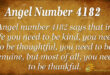 4182 angel number