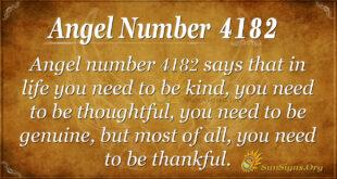 4182 angel number
