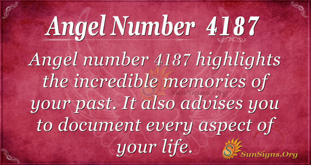 4187 angel number