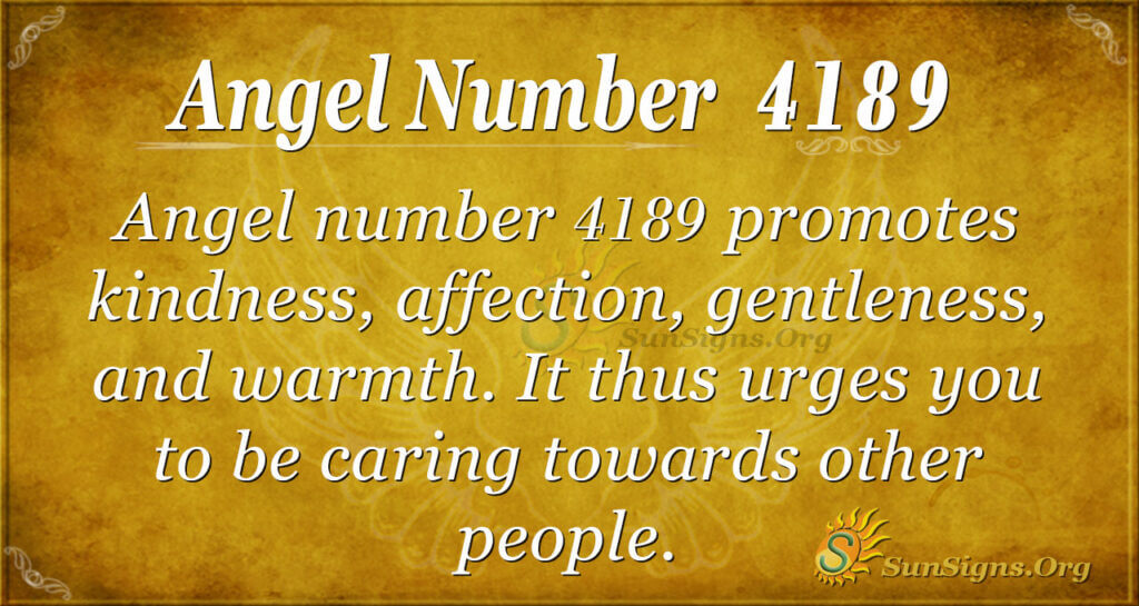 4189 angel number
