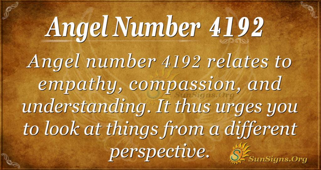 4192 angel number
