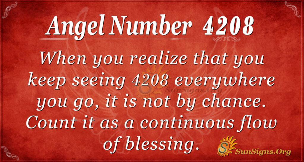 4208 angel number