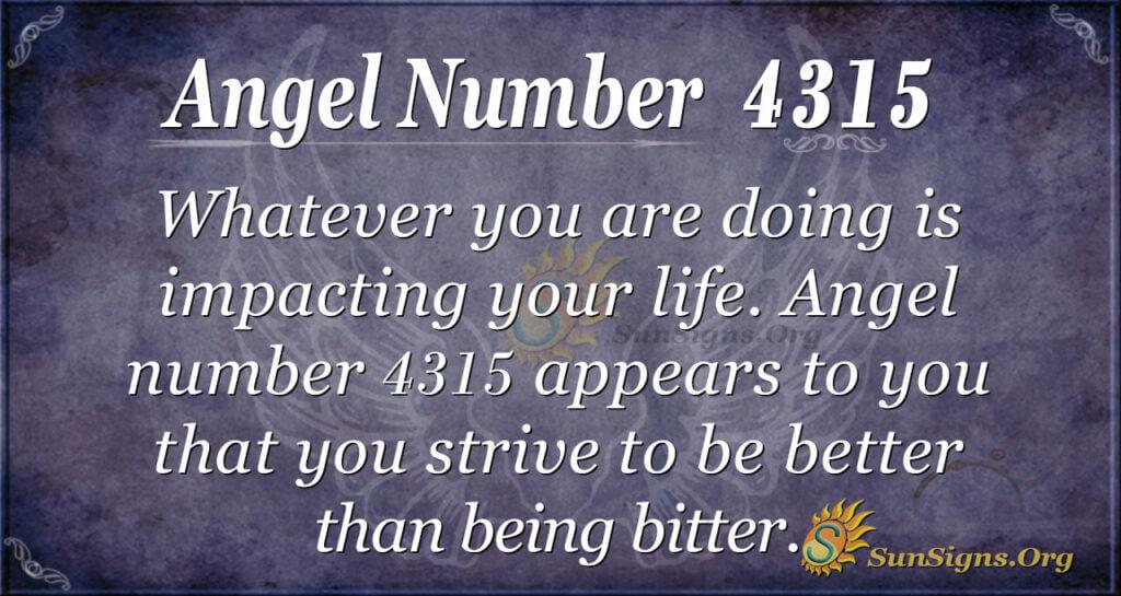 4315 angel number